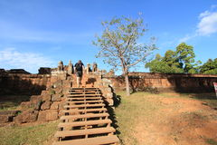 Siem Reap  temple in Cambodia Stock Image