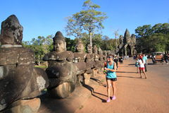 Siem Reap  temple in Cambodia Stock Photos