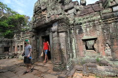Siem Reap  temple in Cambodia Royalty Free Stock Image