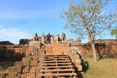 Siem Reap  temple in Cambodia Royalty Free Stock Photo