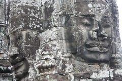 Siem- Reapgesichter Stockfotografie