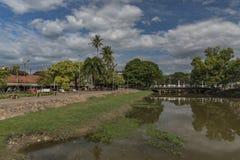 Siem- Reapstadt am sonnigen Tag in Kambodscha Lizenzfreie Stockbilder