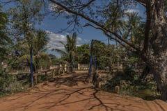 Siem- Reapstadt am sonnigen Tag in Kambodscha Lizenzfreies Stockfoto