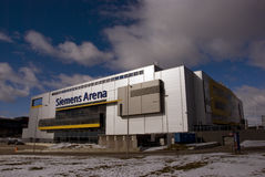 Siemens arena in Vilnius Royalty Free Stock Photos