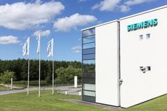 Siemens building and office Stock Image