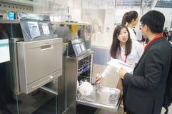 SIEMENS home appliance exhibition sales Stock Photos