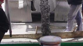 Siemens Trucks Uwalnianie betonu gotowego do wbudowania zdjęcie wideo