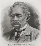 siemens Von Werner royalty ilustracja