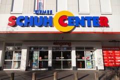Siemes Schuhcenter鞋子中心商店 库存照片