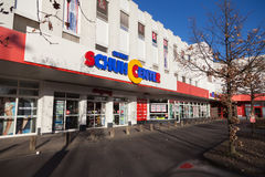 Siemes Schuhcenter鞋子中心商店 图库摄影