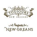 Siempre barrio francés de New Orleans Fotos de archivo libres de regalías