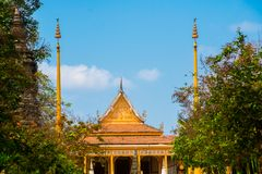 Siemreap,Cambodia.Temple. A beautiful old temple in the city Siemreap,Cambodia stock images