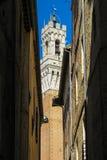 Siena Architecture au milieu d'un jour photographie stock libre de droits