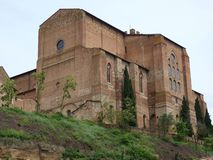 Siena - The Basilica of San Domenico, Stock Photo