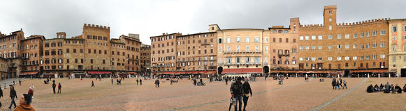 Siena campo square Stock Photo