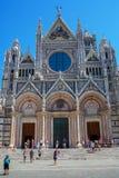 Siena Cathedral à Sienne, Toscane, Italie Photo libre de droits