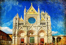Siena' cathedral Stock Image