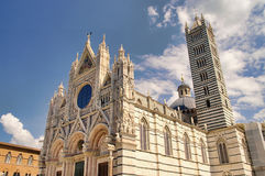 Siena cathedral Royalty Free Stock Image