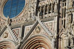 Siena Cathedral, building, landmark, cathedral, architecture. Siena Cathedral is building, architecture and byzantine architecture. That marvel has landmark stock photos