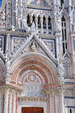 Siena Cathedral (Details) is a medieval - Italy Stock Photography