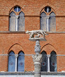 Siena Cathedral (Details) is a medieval - Italy Royalty Free Stock Photo
