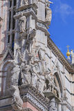 Siena Cathedral (Details) is a medieval - Italy Stock Images
