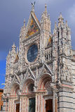 Siena Cathedral (Details) is a medieval - Italy Stock Image