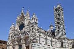 Siena Cathedral Duomo di Santa Maria Assunta in Siena, Italy Royalty Free Stock Photos