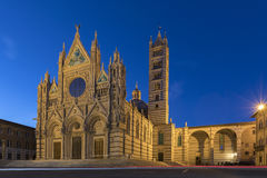 Siena Cathedral - The Duomo - Siena - Italy stock images