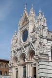 Siena Cathedral eller Duomodi Siena Arkivfoto
