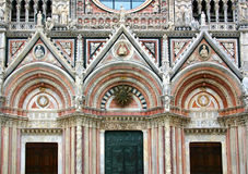 Siena, cathedral facade Royalty Free Stock Photography
