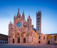 Siena Cathedral facade Royalty Free Stock Photography