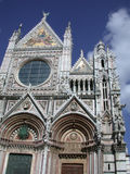 Siena Cathedral facade Royalty Free Stock Image