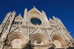Siena Cathedral, historic site, medieval architecture, cathedral, landmark. Siena Cathedral is historic site, landmark and gothic architecture. That marvel has stock photos