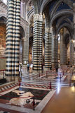 Siena Cathedral Interior Royalty Free Stock Images