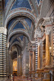 Siena Cathedral Interior Stock Photography