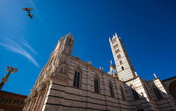 Siena Cathedral, Italy. Siena (Sienna), city in Tuscany, Italy. Capital of the province . Listed on UNESCO  World Heritage Site. One of the nation's most visited Royalty Free Stock Photos