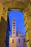 Siena Cathedral in Italy Royalty Free Stock Photography
