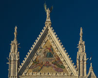 Siena Cathedral in Italy royalty free stock photos