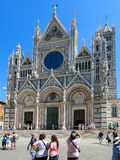 Siena Cathedral in Italy stock photos