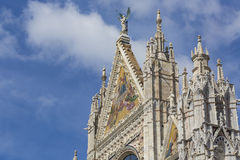 Siena Cathedral is a medieval church built in Romanesque and Got Stock Image