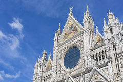 Siena Cathedral is a medieval church built in Romanesque and Got Stock Photo