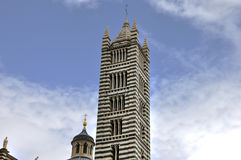 Siena cathedral Santa Maria bell tower Royalty Free Stock Image