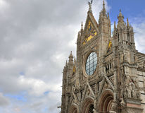 Siena cathedral Santa Maria Royalty Free Stock Images