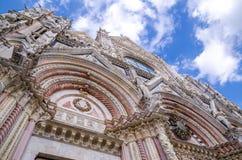 Siena Cathedral in Siena Siena, Toskana, Italien Stockfotos