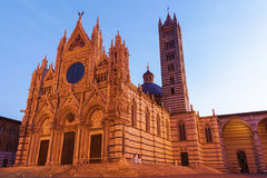 Siena Cathedral in Siena Stock Photography