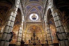 Siena Cathedral, Siena, Toscana, Italia Fotografie Stock Libere da Diritti
