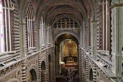 Siena Cathedral, Siena, Toscanië, Italië Stock Foto's