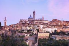 Siena Cathedral in Siena Stock Image