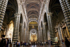 Siena Cathedral, Siena, Tuscany, italy Stock Images